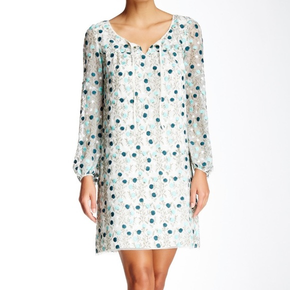 Anna Sui Dresses & Skirts - Anna Sui Mums Embroidered Floral Dress NWT $350